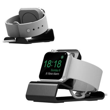 Aluminum Alloy Apple Watch Series 4/3/2/1 Latausasema - Harmaa