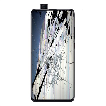 Xiaomi Mi 9T LCD-näytön ja Kosketusnäytön Korjaus - Musta