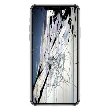 iPhone 11 Pro Max LCD-näytön ja Kosketusnäytön Korjaus - Musta - A