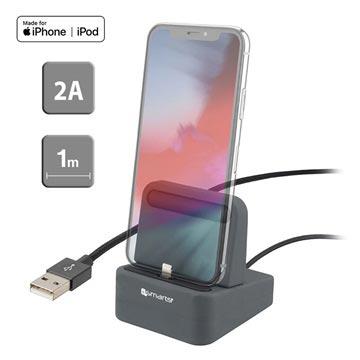 4smarts uDock 2-in-1 Lightning Lataustelakka - iPhone XS Max/XS/XR