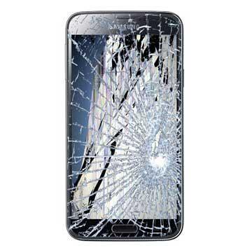 Samsung Galaxy S5 LCD-näytön ja Kosketusnäytön Korjaus - Musta