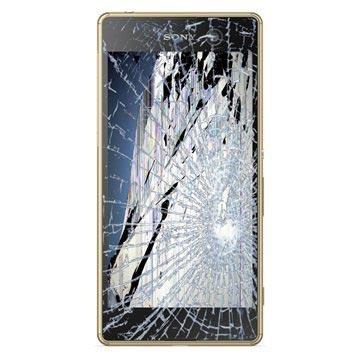 Sony Xperia M5 LCD-näytön ja Kosketusnäytön Korjaus - Kulta