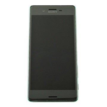 Sony Xperia X Performance Etukuori & LCD Näyttö - Musta
