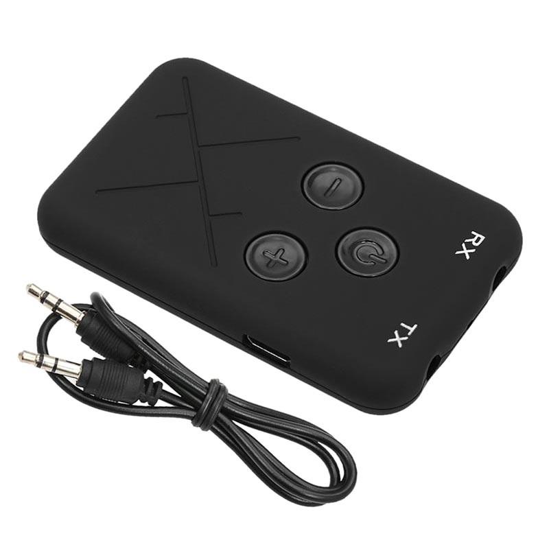 2 in 1 Bluetooth Lähetin Vastaanotin Langaton 3.5mm Audio