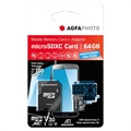 AgfaPhoto Professional High Speed MicroSDXC Muistikortti 10616 - 64GB