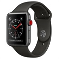 Apple Watch Series 3 LTE MR302ZD/A - Alumiinikuori, Urheiluranneke, 42mm, 16GB