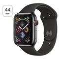 Apple Watch Series 4 LTE MTX22FD/A - Ruostumaton Teräskuori, Urheiluranneke, 44mm, 16Gt