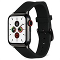 Artwizz Apple Watch Series SE/6/5/4/3/2/1 Silikoniranneke - 42mm, 44mm - Musta