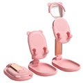 Bear Ears Design Universal Holder with Mirror