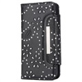 iPhone X Bling Series Detachable Wallet Case - Black