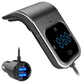 Bluetooth FM Transmitter & Dual Car Charger BC39