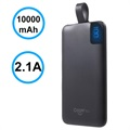 Cager S10000 Portable Type-C Power Bank - 10000mAh - Black