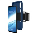 iPhone X Detachable Silicone Armband - Blue
