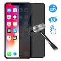 Devia 3D Full Glass Privacy iPhone X / iPhone XS Panssarilasi - 9H, 0.26mm - Musta