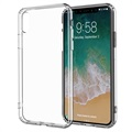iPhone X Drop Resistant Crystal TPU Case - Transparent