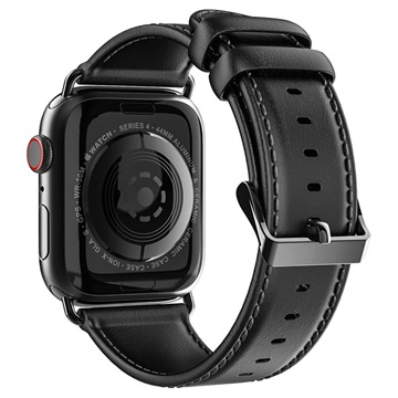 Dux Ducis Apple Watch Series 5/4/3/2/1 Nahkaranneke - 38mm, 40mm