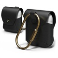 Elago AirPods / AirPods 2 Leather Case with Carabiner