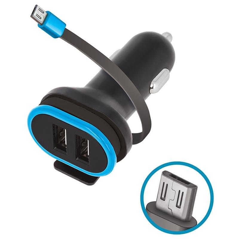 Forever CC 02 MicroUSB Autolaturi 2:lla USB Portilla 3A