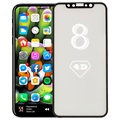 iPhone X / iPhone XS Full Size 4D Glass Screen Protector - Black