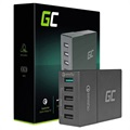 Green Cell QC3.0 Multiport USB Nopea Latausasema - 52W