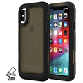 Griffin Survivor Extreme iPhone XS Max Hybrid Case - Black / Translucent Grey