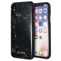 Guess Marble Collection iPhone X / iPhone XS Hybridikotelo