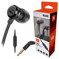 JBL T290 Pure Bass In-Ear -Kuulokkeet Mikrofonilla