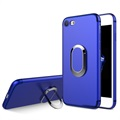 iPhone 7 Magnetic Ring Grip Case - Blue