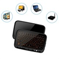 Mini Wireless Keyboard & Touchpad H18+ - 2.4GHz - Black