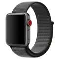Apple Watch Series 5/4/3/2/1 Nylon Hihna - 44mm, 42mm - Army Vihreä