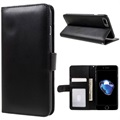 iPhone 7 Plus / iPhone 8 Plus Premium Wallet Case with Stand Feature - Black
