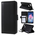 Huawei P Smart Premium Wallet Case with Stand Feature - Black