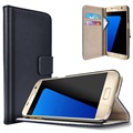 Samsung Galaxy S7 Saii Classic Wallet Case - Black