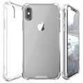 Scratch-Resistant iPhone X Hybrid Case - Transparent
