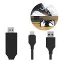 iPhone/iPad SiGN HDMI / Lightning Cable - 2m - Musta