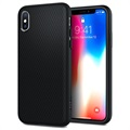 iPhone X Spigen Liquid Air Armor TPU Case - Black