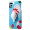 iPhone 7 Plus Squishy Anti-Stress 3D Toy Case - Seal
