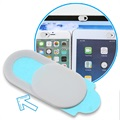 Ultra-Thin Universal Webcam Cover - 0.7mm - White