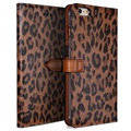 iPhone 6/6S Wetherby Basic Wallet Leather Case - Leopard