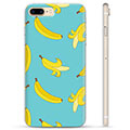 iPhone 7 Plus / iPhone 8 Plus TPU Suojakuori - Banaanit