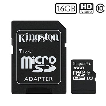 Kingston Canvas Select MicroSDHC Muistikortti SDCS/16GB