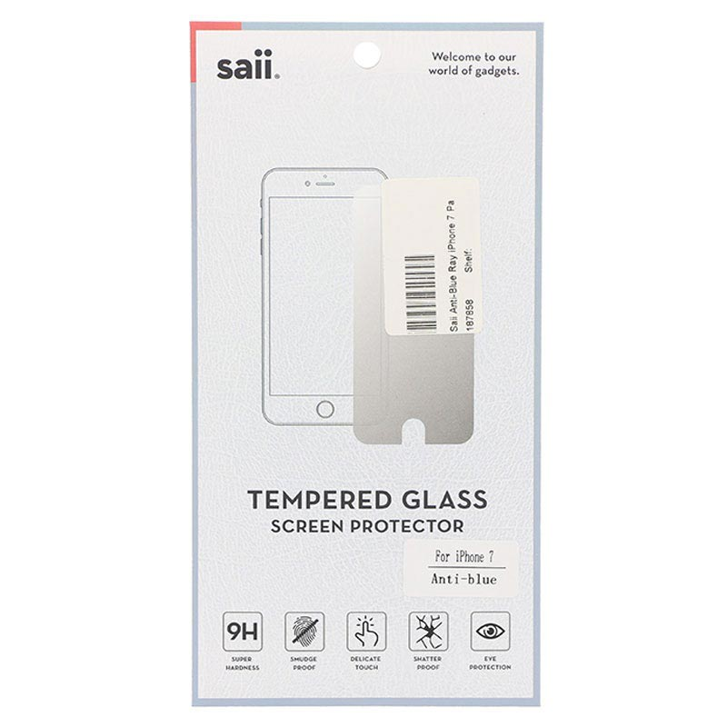 Saii Anti-Blue Ray Tempered Glass Screen Protector