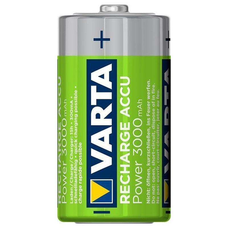 Varta Power Ready2Use Ladattavat C/HR14 Paristot - 3000mAh - 1x2