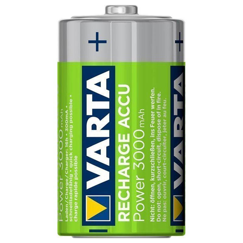 Varta Power Ready2Use Ladattavat D/HR20 Paristot - 3000mAh - 1x2